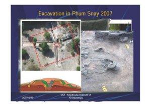 Excavaciones de la aldea Snay