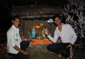 Feliz navidad desde Camboya