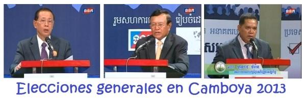elecciones generales en camboya 2013