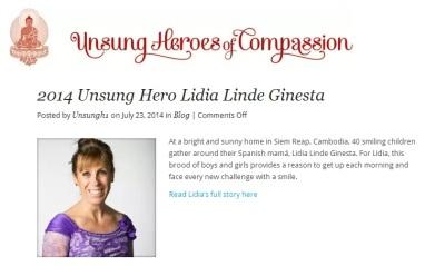 Lidia Linde in Heros