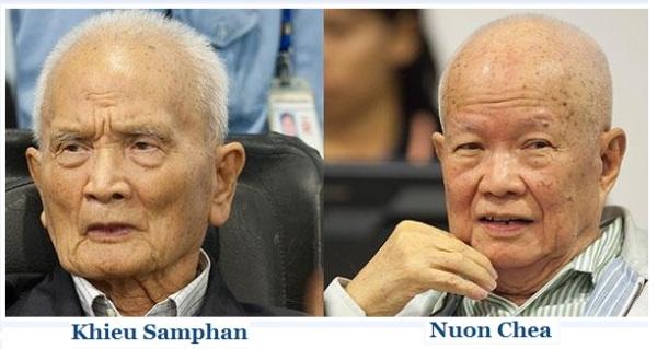 Khieu Samphan and Nuon Chea