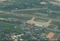 El aeropuerto en 2005.