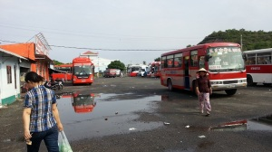 Ha Tien bus station