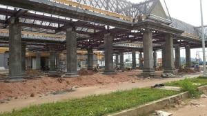 Prek Chak International Border 2015 constructions