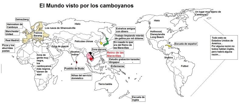El mundo visto por los camboyanos